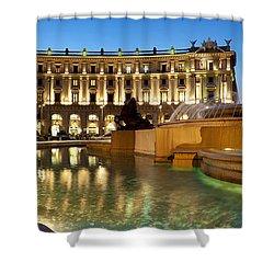 Piazza Della Repubblica Shower Curtain