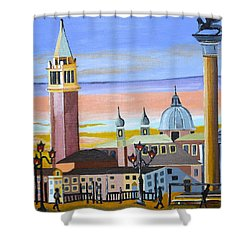 Piazza San Marco Shower Curtain