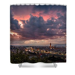 Piazzale Michelangelo Shower Curtain