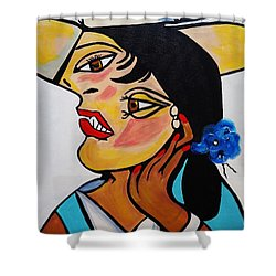 Picasso By Nora Shower Curtain