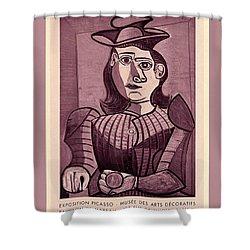 Pablo Picasso Shower Curtains Pixels