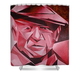 Picasso Portrait The Rose Period Shower Curtain by Tracey Harrington-Simpson