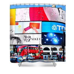 Piccadilly Magic Shower Curtain by Andreas Thust