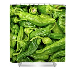 Shower Curtain featuring the photograph Picked A Peck Of Peppers by Sandy Molinaro
