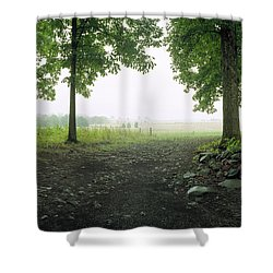 Pickett's Charge Shower Curtain by Jan W Faul
