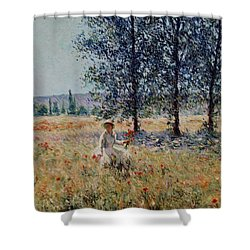 Picking Flowers  Shower Curtain