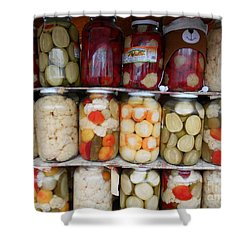 Pickles Anyone?  Shower Curtain