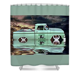 Pickup Reflections Shower Curtain