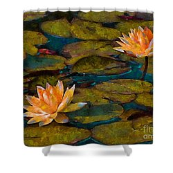 Picnic By The Pond Shower Curtain