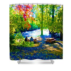 Picnic Shower Curtain