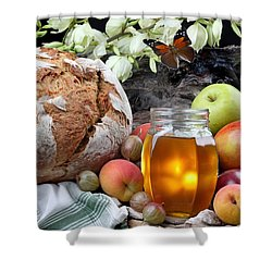 Picnic Shower Curtain by Manfred Lutzius