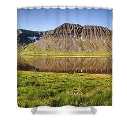 Picnic - Panorama Shower Curtain