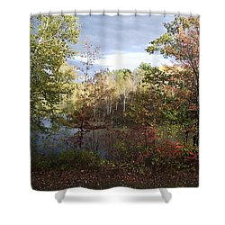 Picture Perfect Shower Curtain by David and Lynn Keller