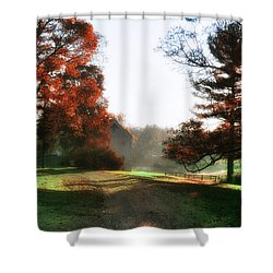 Picture Perfect Morning Shower Curtain by Bill Cannon