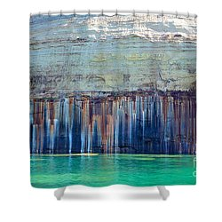 Picture Rock Two Shower Curtain