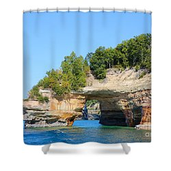 Picture Rocks Shower Curtain