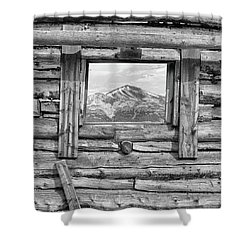 Shower Curtain featuring the photograph Picture Window #2 by Eric Glaser