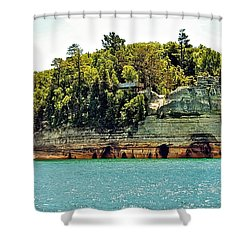 Pictured Rock 6323  Shower Curtain