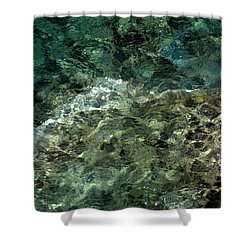 Shower Curtain featuring the photograph Pictured Rocks II by Kenneth Campbell