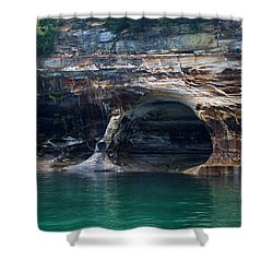Pictured Rocks National Lakeshore 9 Shower Curtain