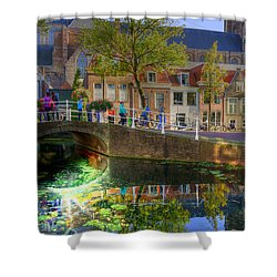 Picturesque Delft Shower Curtain