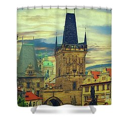 Picturesque - Prague Shower Curtain