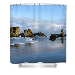 Picturesque Rocks Shower Curtain
