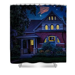 Picutre Window Shower Curtain