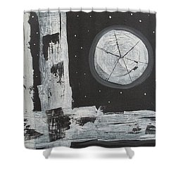 Pie In The Sky Shower Curtain