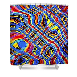 Piece In C Sharp Major Shower Curtain by Andreas Thust