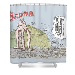 Piece Of Meat Shower Curtain