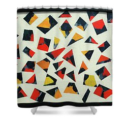 Pieces Of Art Shower Curtain