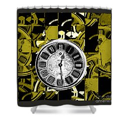 Pieces Of Time Shower Curtain