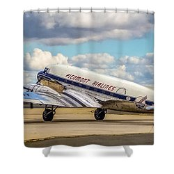Piedmont Dc-3 Shower Curtain