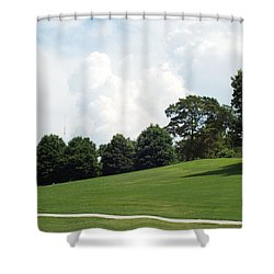 Piedmont Park Shower Curtain by Jake Hartz