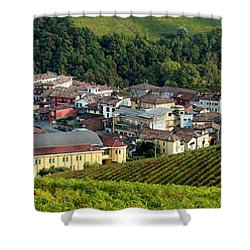 Shower Curtain featuring the photograph Piemonte Panoramic by Brian Jannsen