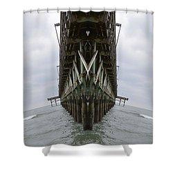 Pier Three Shower Curtain