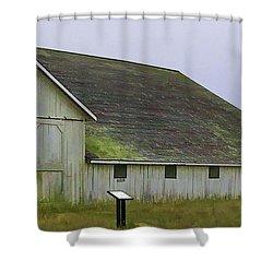 Pierce Pt. Ranch Study Shower Curtain