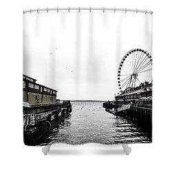 Pierless 2 Shower Curtain