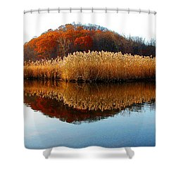 Piermont Backwater Shower Curtain
