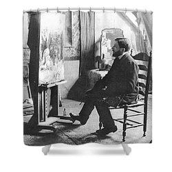 Piet Mondrian (1872-1944) Shower Curtain by Granger