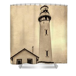 Pigeon Point Light Station Pescadero California Shower Curtain
