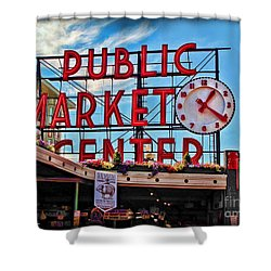 Pike Place Market Shower Curtain
