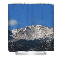Pikes Peak Shower Curtain