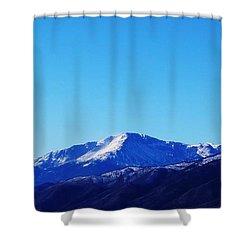 Shower Curtain featuring the photograph Pikes Peak by Joseph Frank Baraba