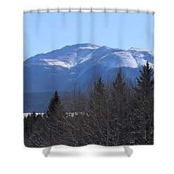 Pikes Peak Cr 511 Divide Co Shower Curtain