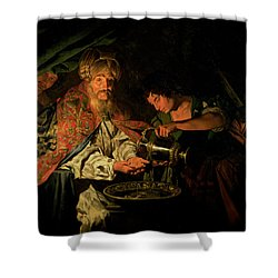 Pilate Washing His Hands Shower Curtain by Stomer Matthias