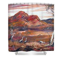 Pilbara, Outback, Western Australia, Shower Curtain