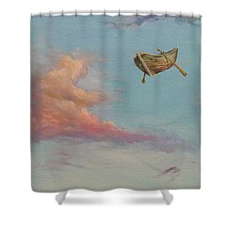 Pilgrim Soul Shower Curtain