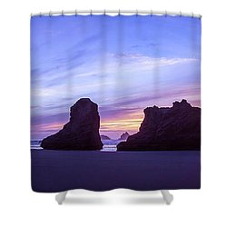 Pillars Of Bandon Shower Curtain